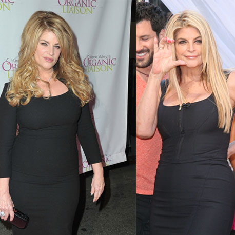 How Much Weight Did Kirstie Alley Lose?