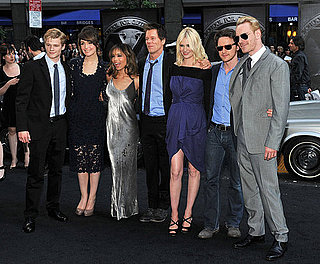 Pictures of January Jones, Rose Byrne, Michael Fassbender, James McAvoy at X-Men First Class New York Premiere