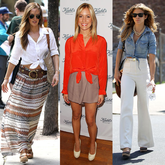 How to Wear a Knotted Top 2011-05-27 11:00:18