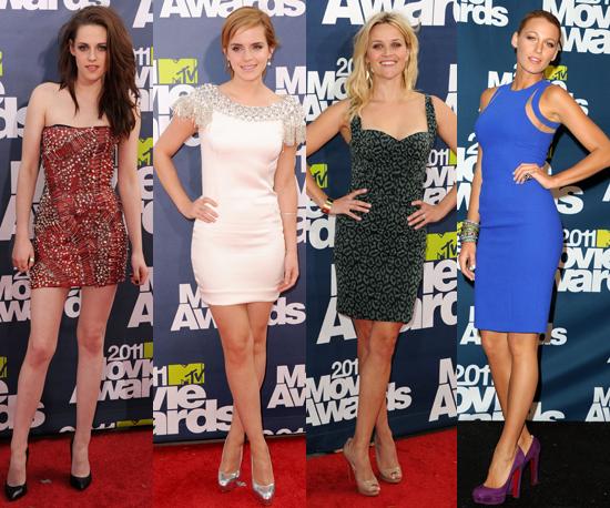 Best-Dressed Celebs at 2011 MTV Movie Awards