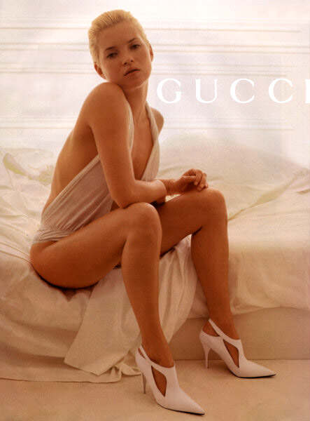 Gucci Spring 2001 ad campaign, shot by Inez van Lamsweerde and Vinoodh Matadin