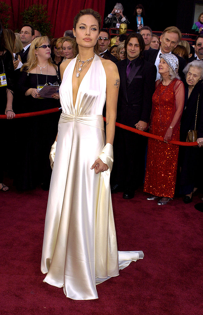 Angelina Jolie's Red Carpet Transfor
