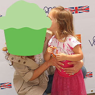 Which Chef Was Posing With Her Daughter at an Event?