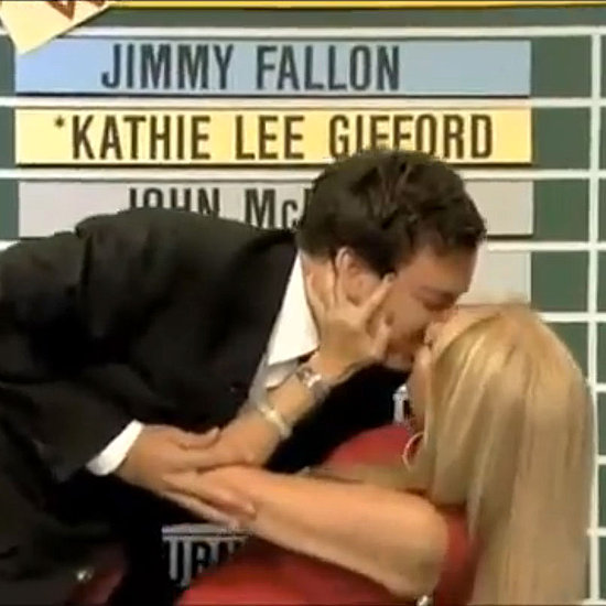 Kathie Lee Gifford Kisses Jimmy Fallon