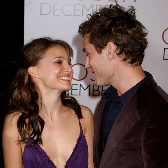 Natalie Portman and Jude Law stuck together at the 2004 premiere of Closer in LA.