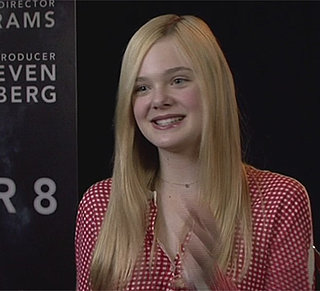 Video Interview With Elle Fanning on Super 8, Dakota Fanning, Premiere Style and More