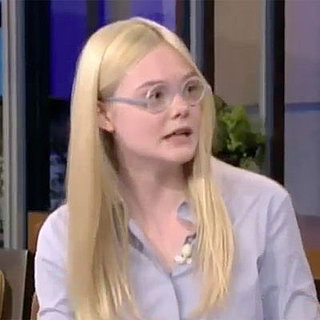 Elle Fanning on Jay Leno Interview About Super 8