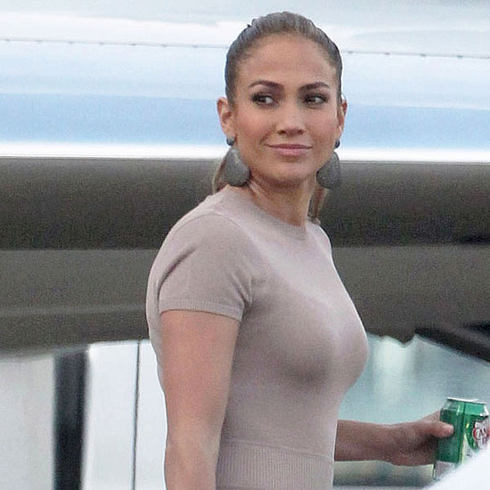 Pictures of Jennifer Lopez With Max and Emme