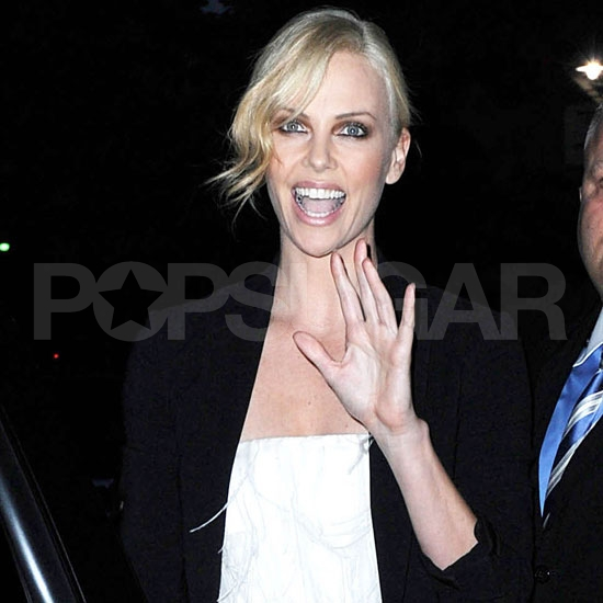 Charlize Theron Pictures at a Dior Event