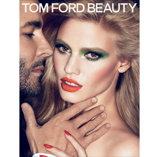 Sneak Preview of Tom Ford Makeup Collection and Lara Stone Photos