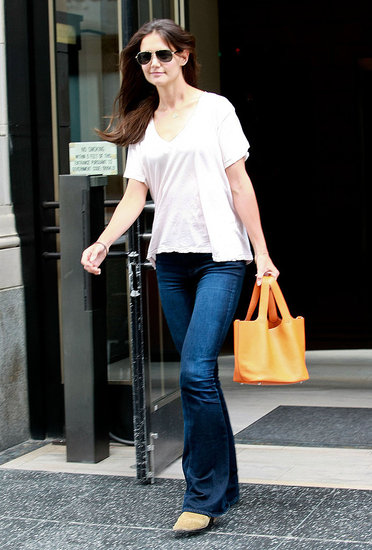 Katie Holmes Pictures Shopping in LA