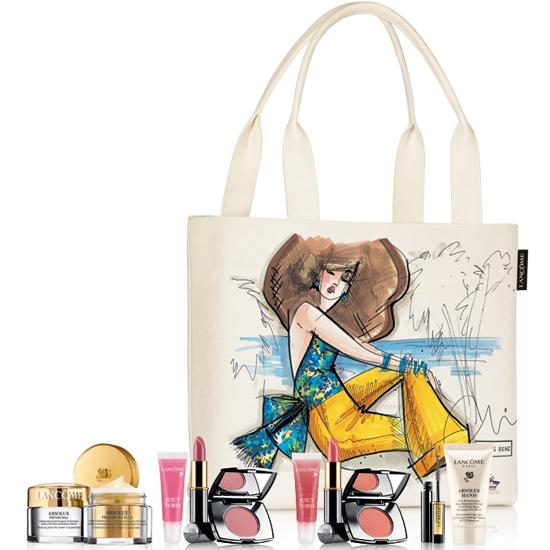 Chris Benz Designs a Bag for Lancôme and Saks Fifth Avenue