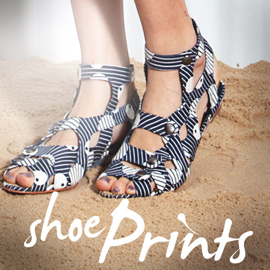 Buy Printed Sandals and Wedges Summer 2011