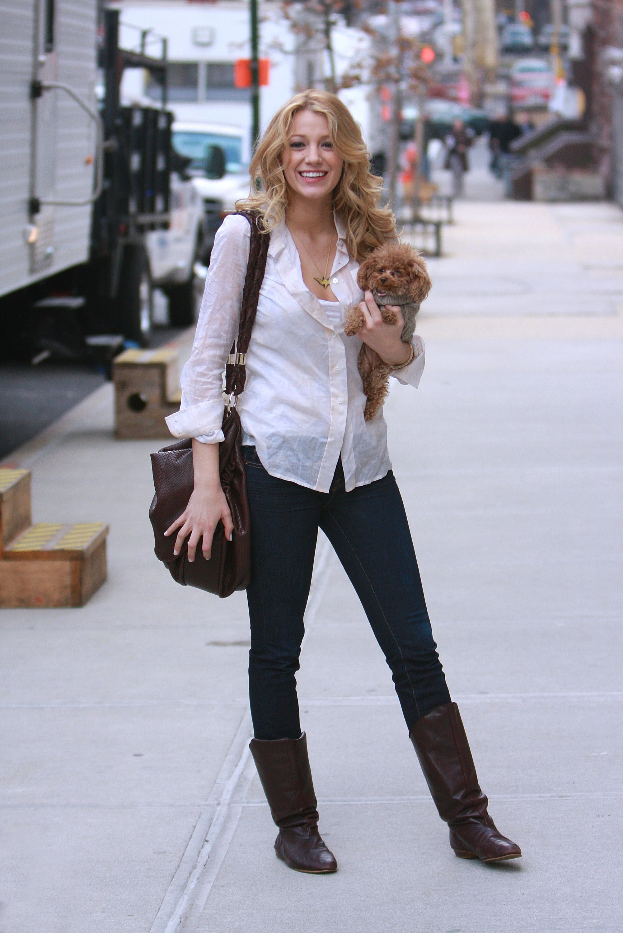 Blake Lively Style Before The Blockbuster Catch Blake 39 S Best Looks Popsugar Fashion