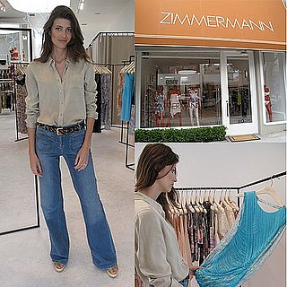 Summer Shopping With Model Michelle Alves at the New Zimmermann Boutique