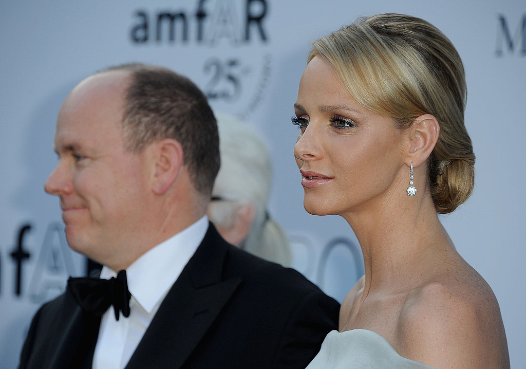 Prince Albert of Monaco and Princess Charlene attended amfAR's Cinema Against AIDS Gala during the 2011 Cannes Film Festival. Source: Getty / Francois Durand