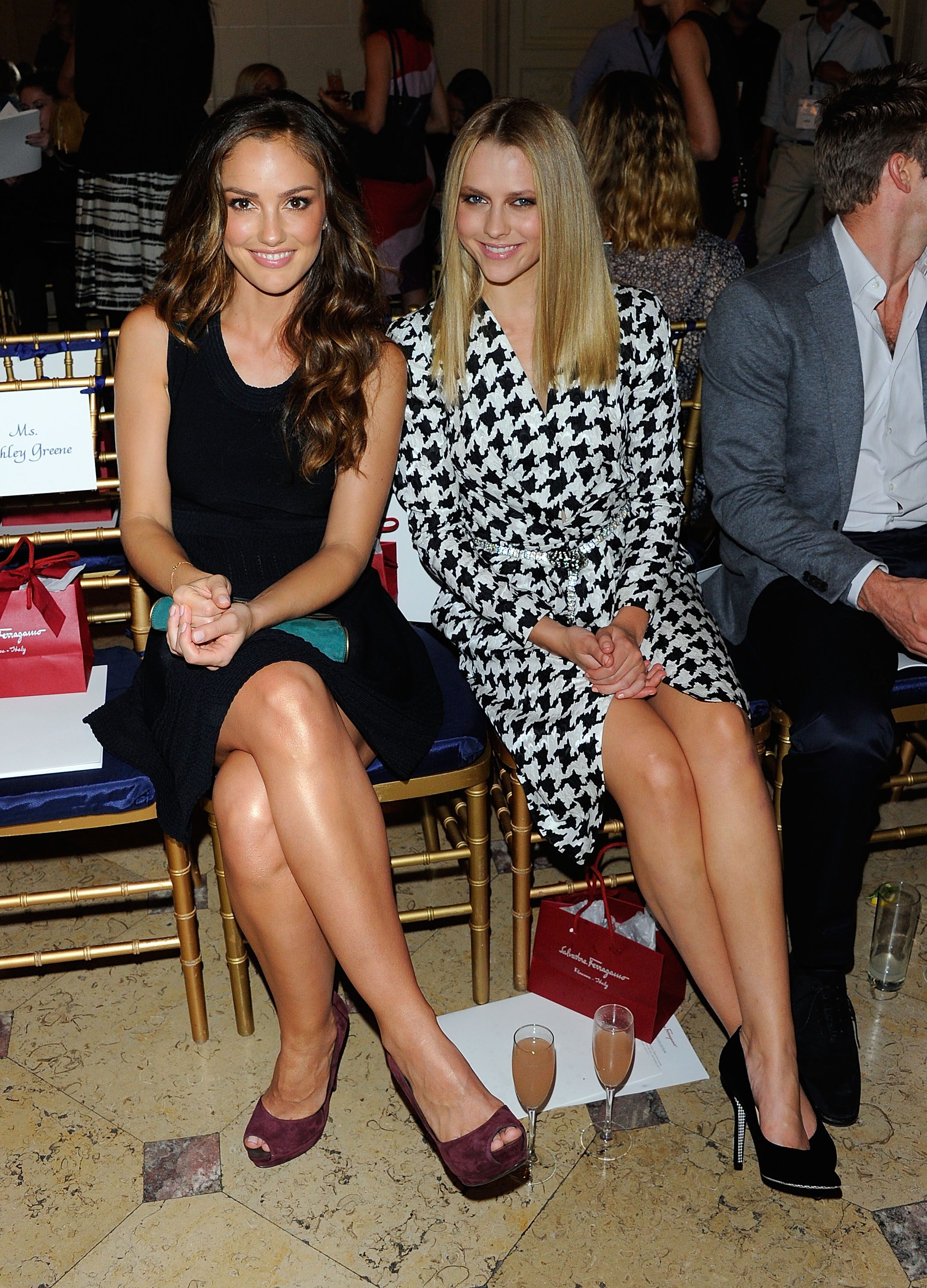 Minka Kelly and Teresa Palmer