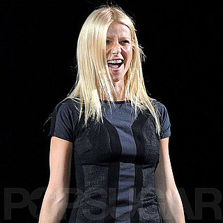 Gwyneth Paltrow Performing at Glee Live in London PIctures