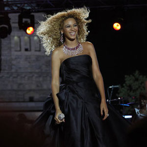 Beyonce Knowles Fourth of July Rehearsal Pictures