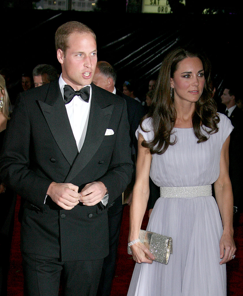 Prince William and Kate Middleton at the BAFTA Brits to Watch event in LA.