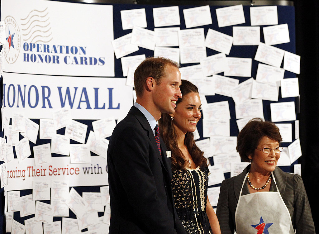 Prince William and Kate Middleton's last day in LA.