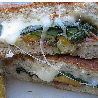 Grilled Peach and Pancetta Sandwich Recipe 2011-07-05 20:14:05