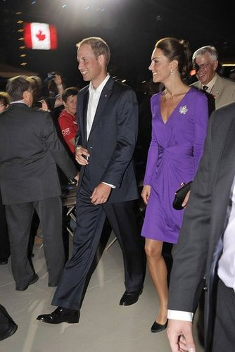 Prince William and Kate Middleton celebrated Canada with the country's citizens.