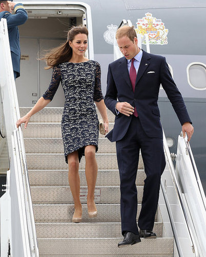 Prince William and Kate Middleton began their North American tour in Ottawa.