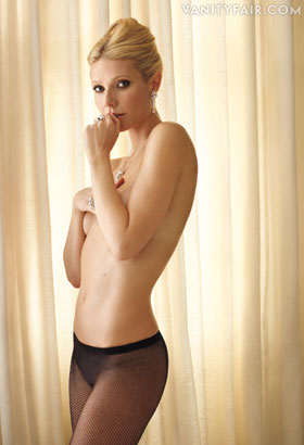 Gwyneth Paltrow Topless Picture in Vanity Fair