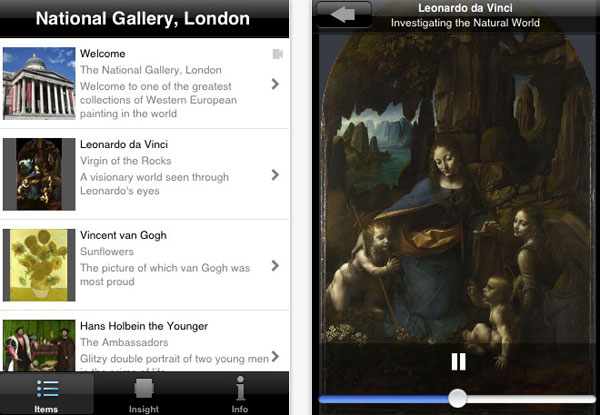 National Gallery Love Art App