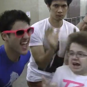 "Glee Kids ""Last Friday Night"" Video With Keenan Cahill"