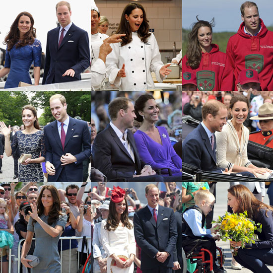 Prince William and Kate Middleton's Canadian Tour — See All the Pictures!