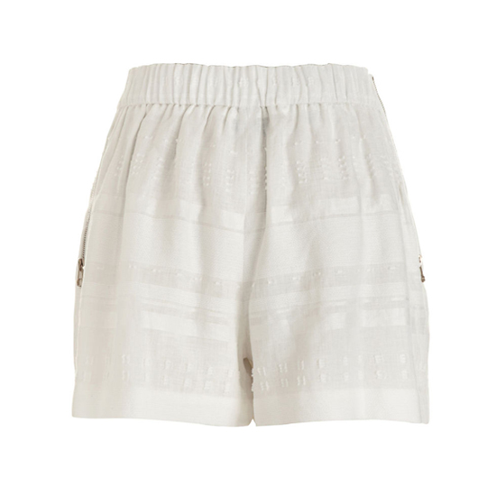 3.1 Phillip Lim Pleated Linen Shorts, $275    Pair with: