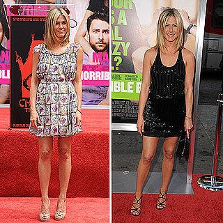 Jen Aniston Wears Prada for Walk of Fame Ceremony