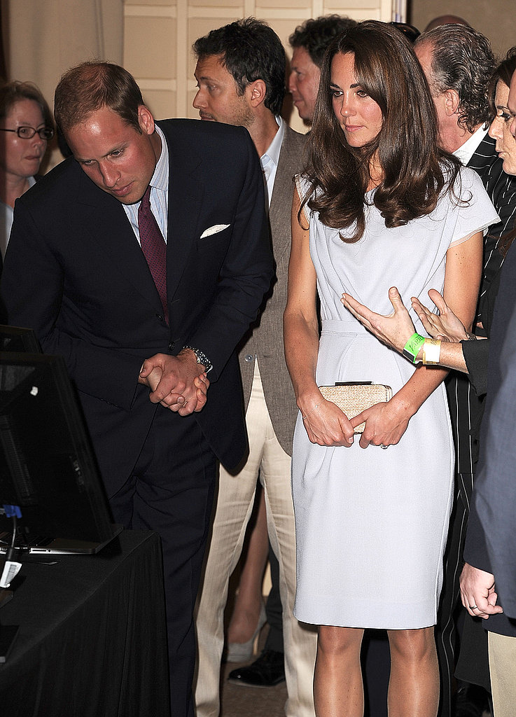 Prince William and Kate Middleton at the Variety technology conference.