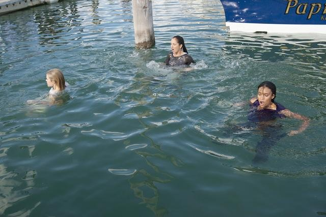 Rachael Taylor, Minka Kelly, and Annie Ilonzeh in ABC&#039;s Charlie Angels.</p> <p>Photo copyright 2011 ABC, Inc.