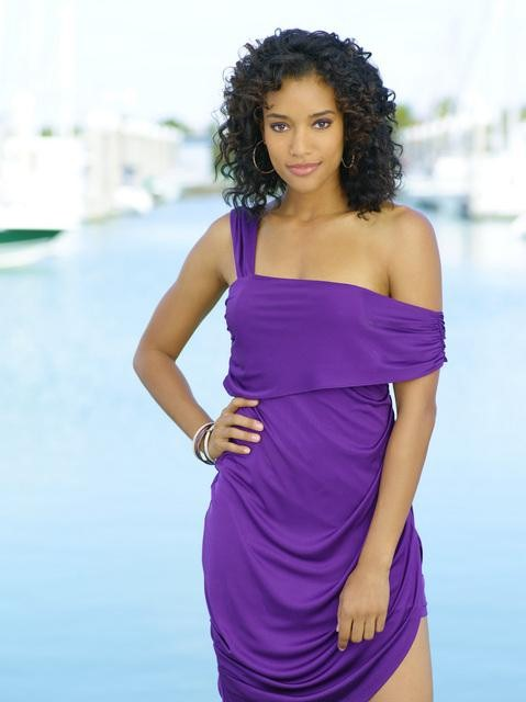 Annie Ilonzeh as Kate Prince in ABC&#039;s Charlie&#039;s Angels.