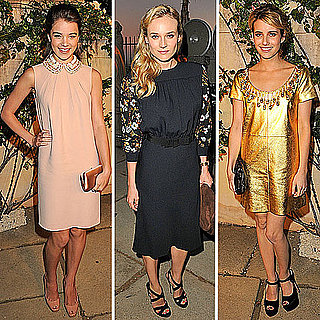Celebrities at Miu Miu Party: Diane Kruger, Hailee Steinfeld, Emma Roberts and More