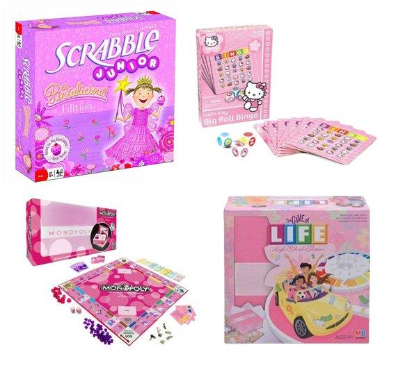 Pink Board Games: Special Editions for Girls | POPSUGAR Moms