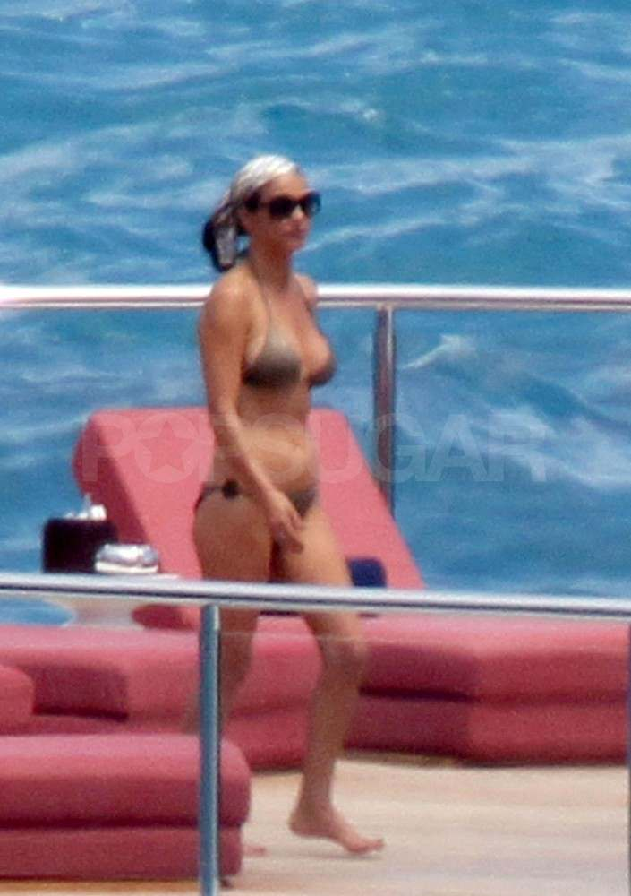 Catherine Zeta-Jones in a bikini.