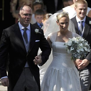 Zara Phillips and Mike Tindall Wedding Pictures 2011-07-31 10:44:53