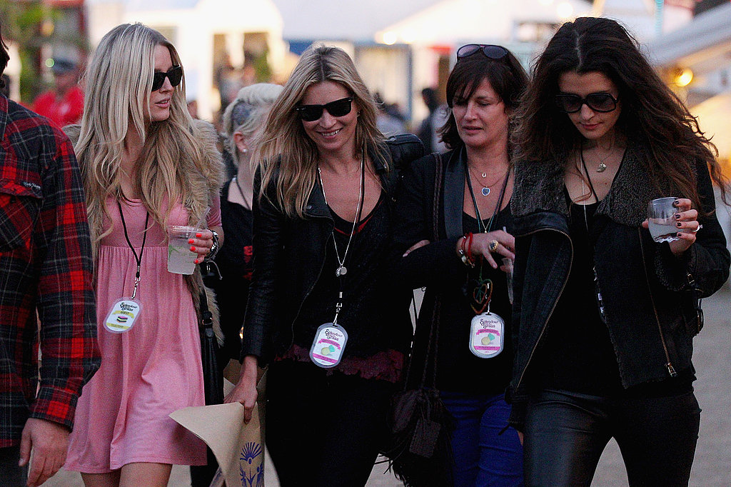 Kate Moss and Friends