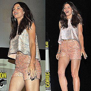 Jessica Biel in Christian Cota at 2011 Comic-Con Pictures 2011-07-25 11:39:39