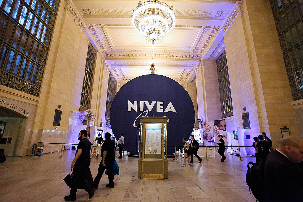 The exhibit is located in Vanderbilt Hall, just off Grand Central's main ticketing area.