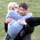 Dakota Fanning in Her Costar's Arms on Now Is Good Pictures