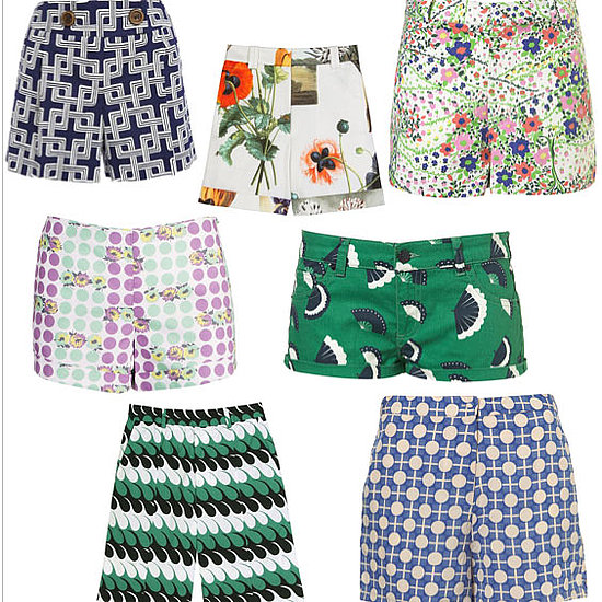 Preppy Printed Summer Shorts