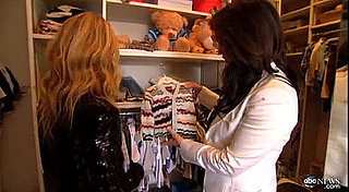 See inside Rachel Zoe's Son Skyler Berman's Designer Walk In Wardrobe! Take the Tour:
