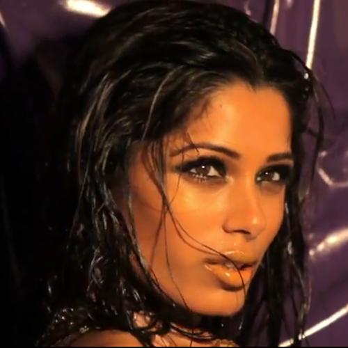 See Freida Pinto's Sexy L'Oreal Video Shoot
