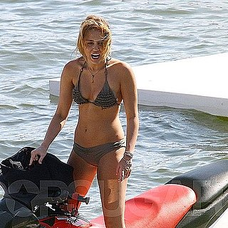 Miley Cyrus Bikini Pictures With Shirtless Liam Hemsworth