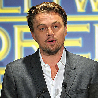 Leonardo DiCaprio and Taylor Lautner at HFPA Lunch Pictures